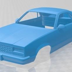 foto 1.jpg Télécharger fichier STL El Camino 1982 Carrosserie imprimable • Modèle pour impression 3D, hora80