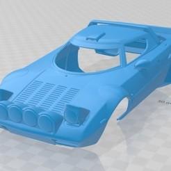 foto 1.jpg Download STL file Lancia Stratos 1972 Printable Body Car • 3D printing template, hora80