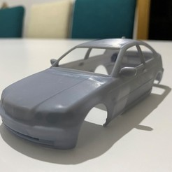 Download STL file Series 3 compact 2004 Printable Body Car • 3D printable design, hora80