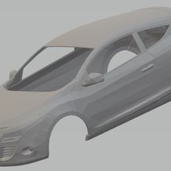 Descargar modelos 3D para imprimir Renault Megane 3 Coupe Printable Body Car, hora80