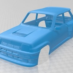 foto 1.jpg Télécharger fichier STL Renault 5 Turbo 1980 Carrosserie imprimable • Modèle imprimable en 3D, hora80