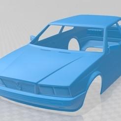 foto 1.jpg Download STL file Maserati Biturbo 1982 Printable Body Car • 3D printer design, hora80