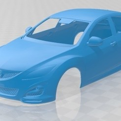 foto 1.jpg Download STL file Mazda 6 Sedan 2011 Printable Body Car • 3D printer template, hora80