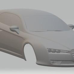 Impresiones 3D Alfa Romeo Giulietta Printable Body Car, hora80