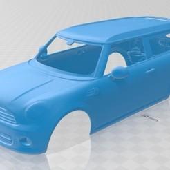foto 1.jpg Télécharger fichier STL Cooper Clubman 2011 Printable Body Car • Modèle à imprimer en 3D, hora80
