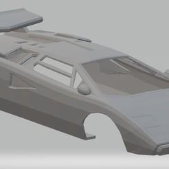 foto 1.jpg Télécharger fichier STL Lamborghini Countach Voiture carrosserie imprimable Lamborghini Countach • Design pour impression 3D, hora80