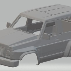foto 1.jpg Download STL file Nissan Patrol GR Printable Body Car • Model to 3D print, hora80