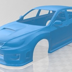 foto 1.jpg Download STL file Subaru WRX STI 2011 Printable Body Car • 3D printer object, hora80