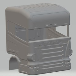 Download STL files Scania R 420 Printable Body Truck, hora80