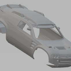 Download STL Volkswagen Tuareg Dakar Printable Body Car, hora80