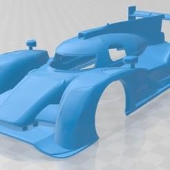 Audi R18 TDI 2011-1.jpg Download STL file Audi R18 TDI 2011 Printable Body Car • 3D printing template, hora80
