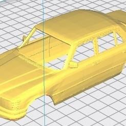 Télécharger modèle 3D Mercedes Benz 450 W116 Carrosserie Imprimable, hora80