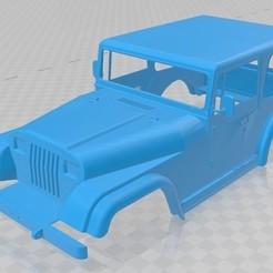 Descargar STL Jeep Wrangler 1988 Printable Body Car, hora80