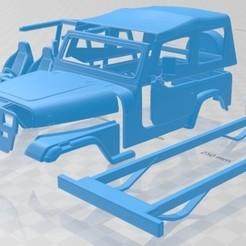 foto 1.jpg Télécharger fichier STL Wrangler YJ 1987 Voiture imprimable • Objet imprimable en 3D, hora80