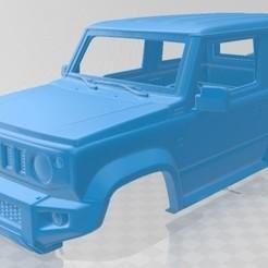 foto 1.jpg Télécharger fichier STL Voiture à carrosserie imprimable Suzuki Jimny Sierra 2019 • Plan pour imprimante 3D, hora80