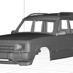 Imprimir en 3D Land Rover Discovery Body Car, printable, hora80