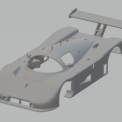 foto 1.jpg Download STL file Mercedes Sauber C9 Printable Body Car • 3D printing design, hora80