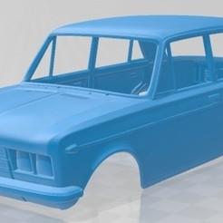 foto 1.jpg Download STL file Fiat 125 1967 Printable Body Car • 3D print model, hora80