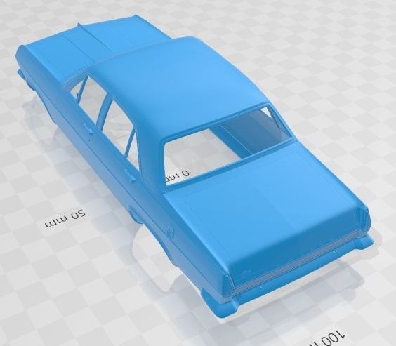 Holden HR Premier 1966-4.jpg Download STL file Holden HR Premier 1966 Printable Body Car • 3D printer template, hora80