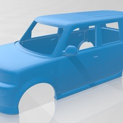 Download 3D printing designs Toyota BB Printable Body Car, hora80