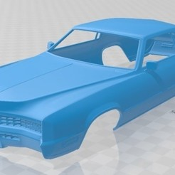 Download 3D printer files Eldorado Fleetwood 1968 Printable Body Car, hora80