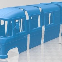 Download 3D printing files Mercedes-Benz L508 D 1978 Printable Body Van, hora80