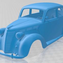 foto 1.png Télécharger fichier STL Fiat 1100 B 1949 Carrosserie imprimable • Modèle à imprimer en 3D, hora80