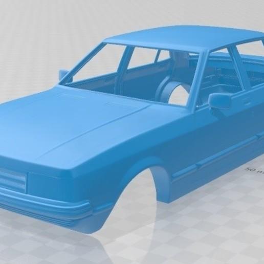 Download 3D printing designs Granada 1982 Printable Body Car, hora80