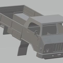 Descargar modelo 3D TAM 110 Printable Body Truck, hora80