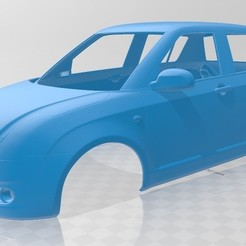 Download 3D printer templates Suzuki Swift Printable Body Car, hora80