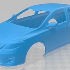 foto 1.jpg Download STL file Toyota Corolla 2010 Printable Body Car • 3D printer object, hora80
