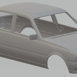 Download 3D print files Peugeot 505 GTI Printable Body Car, hora80