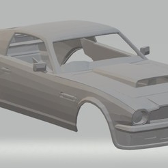 Descargar STL Aston Martin Vantage V8 Printable Body Car, hora80