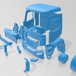 Download 3D printing files Iveco X-Way 2020 Printable Truck, hora80