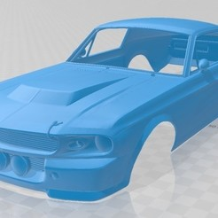 foto 1.jpg Download STL file Mustang GT500 Eleanor Printable Body Car • Template to 3D print, hora80