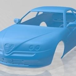 Alfa Romeo GTV 1995-1.jpg Download STL file Alfa Romeo GTV 1995 Printable Body Car • 3D print model, hora80