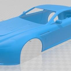 Télécharger STL Carrosserie imprimable de l'Aston Martin Vantage, hora80