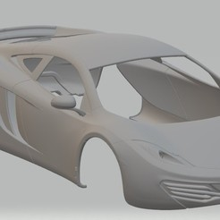 Descargar archivos 3D MC Laren MP12 Coupe Printable Body Car, hora80