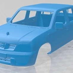 foto 1.jpg Download STL file Nissan Ddsen 2015 Printable Body Car • Object to 3D print, hora80
