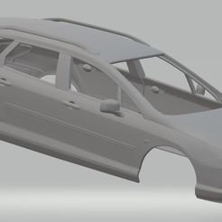 Download STL file Peugeot 407 SW Printable Body Car, hora80
