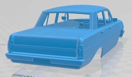 Holden Special EH 1963-5.jpg Download STL file Holden Special EH 1963 Printable Body Car • 3D printer object, hora80