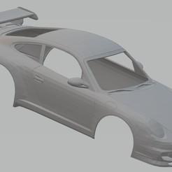 Download 3D printing models Porsche 911 GT3 Printable Body Car, hora80