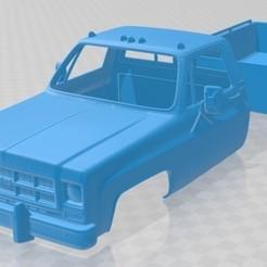 foto 1.jpg Download STL file Sierra Grande 454 Pickup 1979 Printable Body Car • 3D printer template, hora80