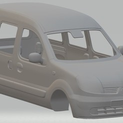 Download 3D print files Renault Kangoo Printable Body Van, hora80