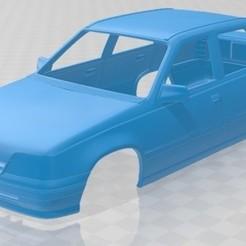 Opel Kadett Sedan 1991 - 1.jpg Télécharger fichier STL Opel Kadett Sedan 1991 Carrosserie imprimable • Modèle pour impression 3D, hora80