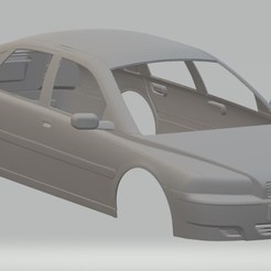 Download 3D printing templates Volvo S80 2004 Printable Body Car, hora80