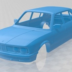foto 1.jpg Download STL file Series 5 E28 Sedan 1987 Printable Body Car • Model to 3D print, hora80