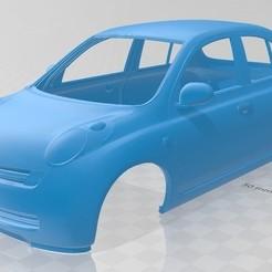 Descargar STL Nissan Micra Printable Body Car, hora80