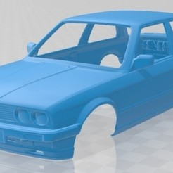 foto 1.jpg Download STL file Series 3 Coupe (E30) 1990 Printable Body Car • 3D printing design, hora80