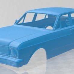 foto 1.jpg Download STL file Falcon 1968 Printable Body Car • Model to 3D print, hora80